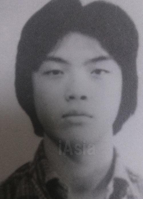 弟の中央大学の学生証貼付写真。