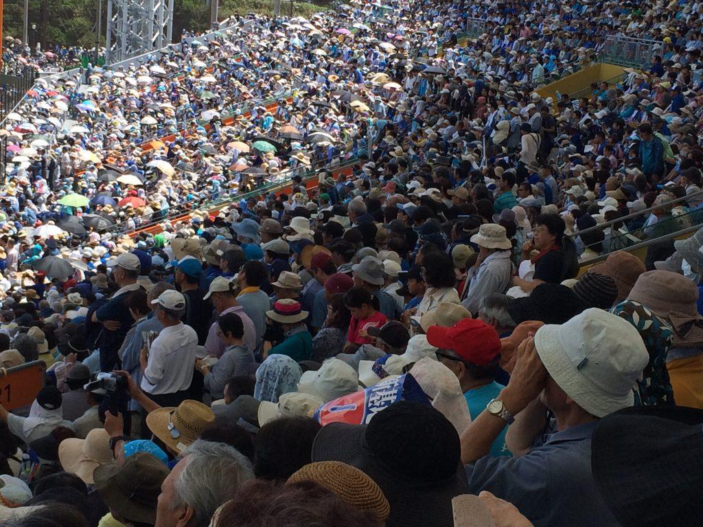 沖縄県民大会の様子(2015年5月17日・撮影:アイ・アジア)
