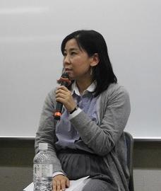 玉本英子氏 ジャーナリスト、アジアプレス所属。イラク、シリアなどを20 年取材。