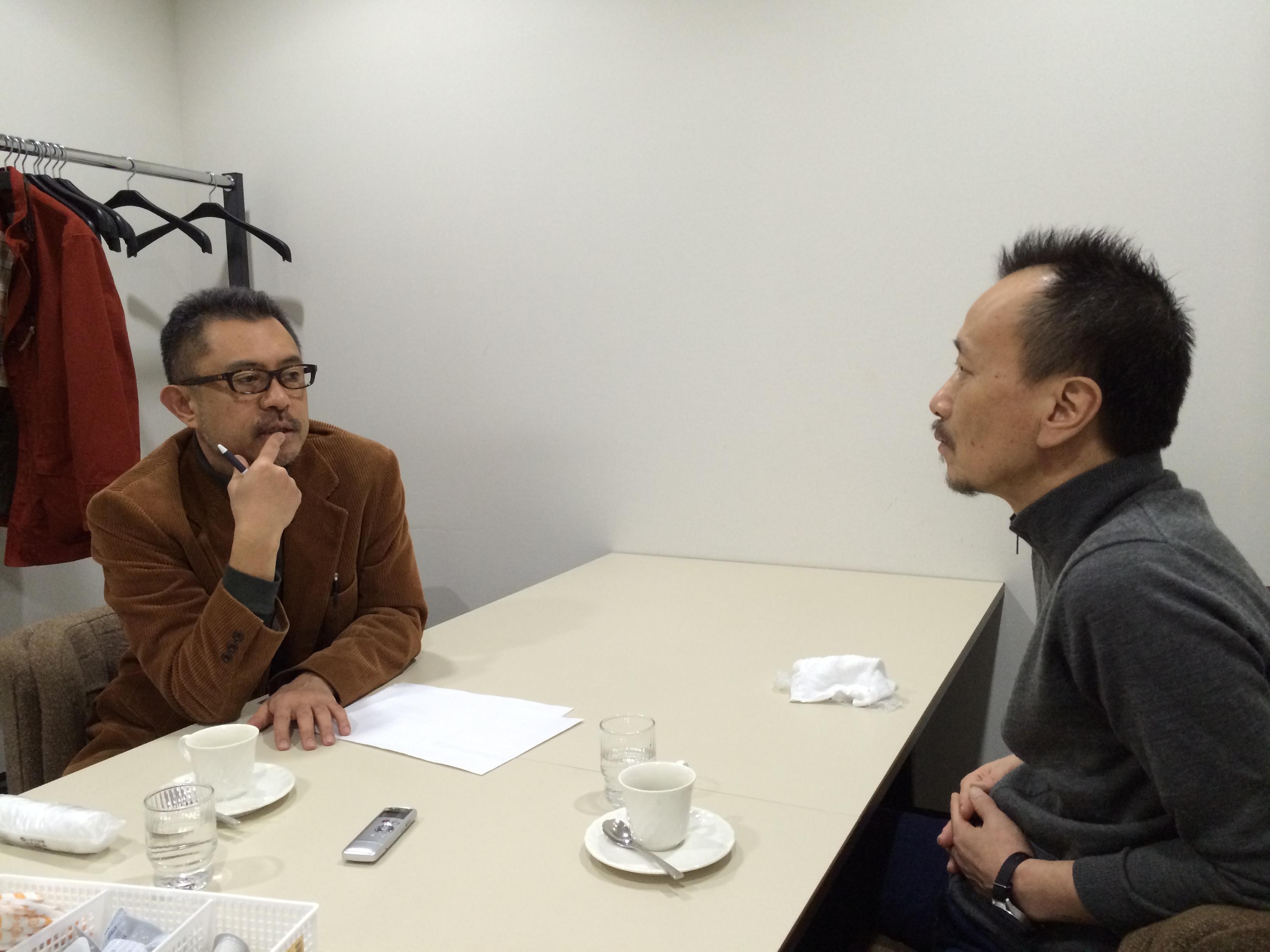 ジャーナリスト・石丸次郎と元拉致被害者家族会事務局長の蓮池透さん