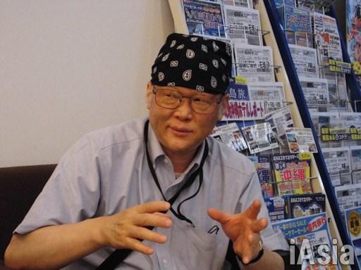 神戸学院大の上脇博之教授 撮影 鈴木祐太