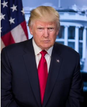 トランプ大統領(ホワイトハウスHPより)