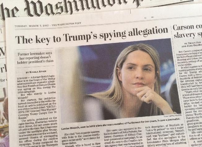 トランプ大統領の「前大統領による盗聴」の根拠に女性ジャーナリスト?(42)
