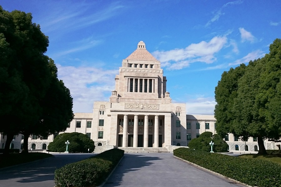 国会議事堂(衆議院HP)