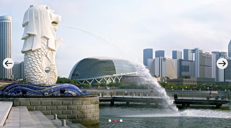 マーライオン公園(シンガポール政府観光局HPより)
