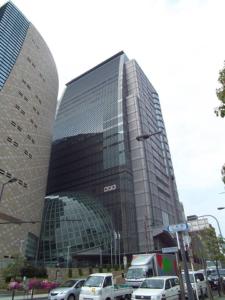 NHK大阪のビル