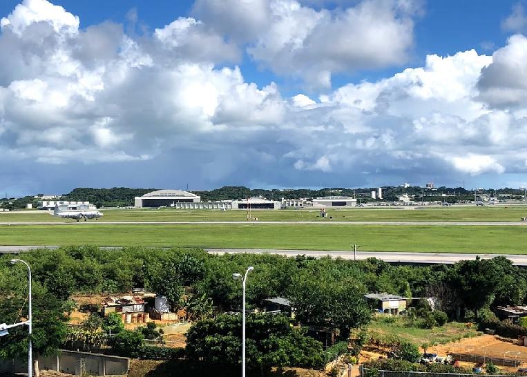 沖縄にある極東最大の米軍空軍基地