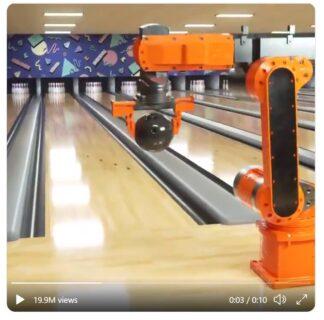 [FactCheck]「ボウリングをする機械」動画はミスリード 実際はCGによる合成